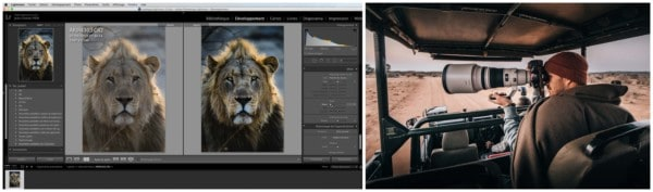 Les bases de Lightroom en photo​